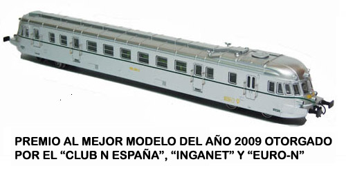 DIESEL RAILCAR ABJ 7 OF RENFE (SECOND VERSION)