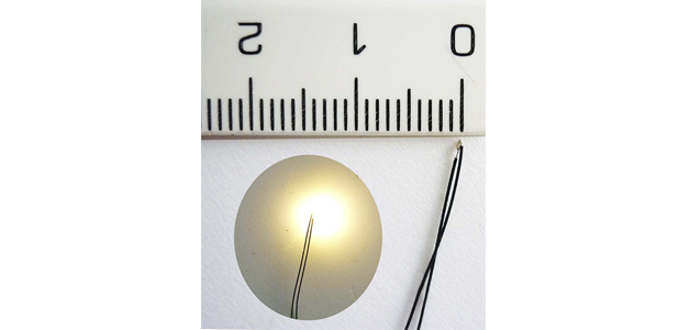 BLISTER 5 MICRO LED 0,5mm BLANCO CALIDO