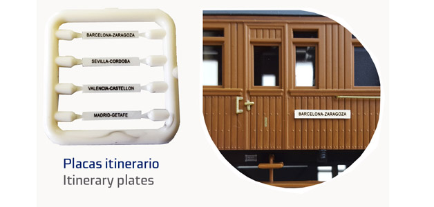 COCHE RENFE MADERA III clase