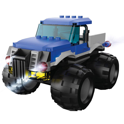 MONSTER TRUCK AZUL