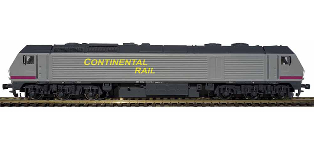 LOCOMOTORA 333 CONTINENTAL RAIL