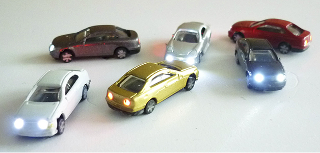 (60160-N) BLISTER 6 COCHES CON LUZ