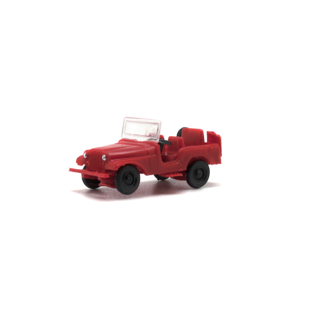 JEEP WILLYS ROJO
