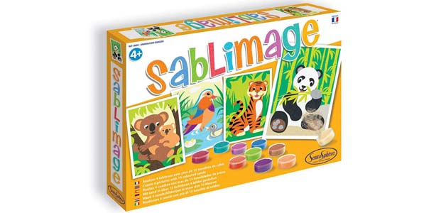Sablimage Animales