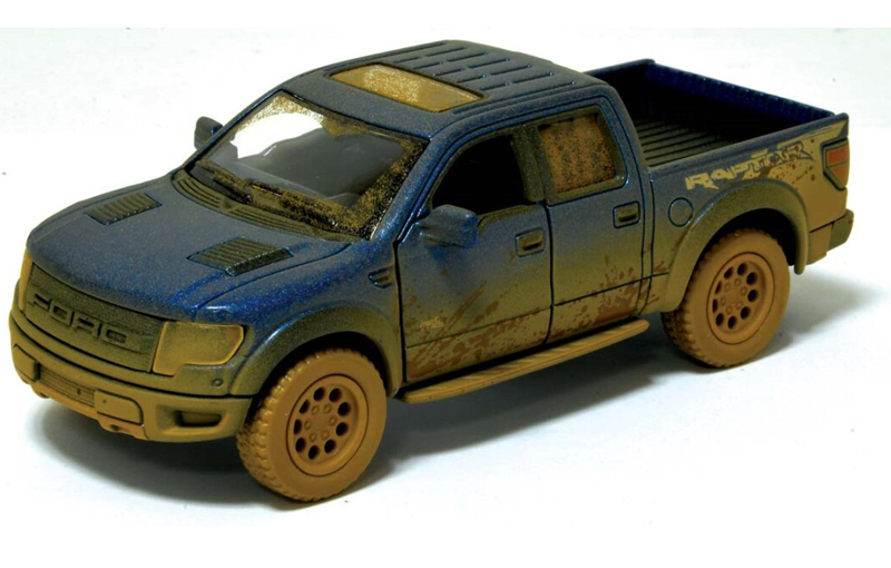 Ford F-150 SVT Raptor Supercrew con Barro 12,5 cm