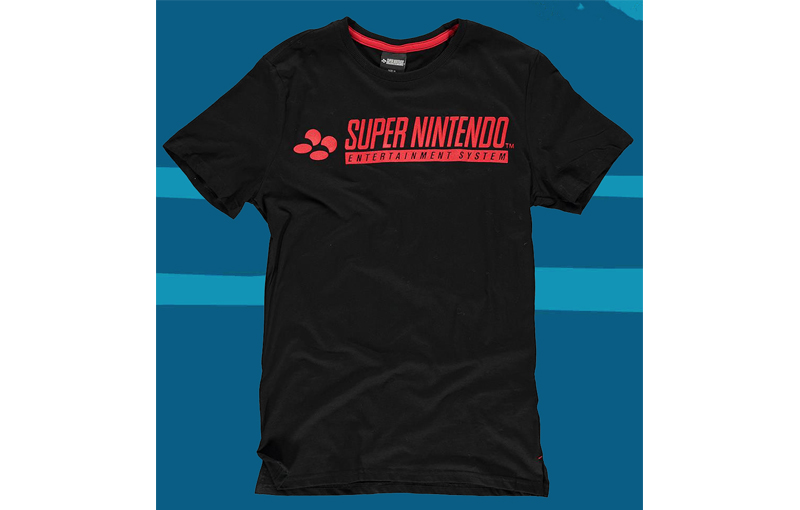 CAMISETA SUPER NINTENDO XL
