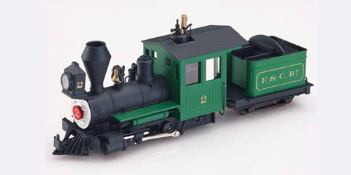 Fiddletown & Copperopolis loco green