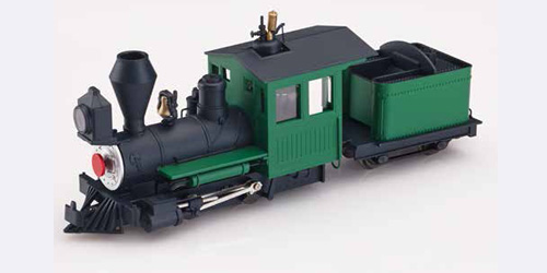 Fiddletown & Copperopolis loco green unlettered